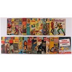Lot of (27) Vintage Assorted Comic Books