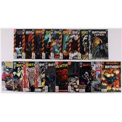 """Lot of (19) 1989-93 """"Batman"""" #545-#572 DC Comic Books"""