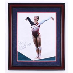 Aly Raisman Signed Team USA 23.5x27.5 Custom Framed Photo Display (Steiner COA)