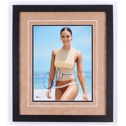 Jessica Alba Signed 18x21 Custom Framed Photo Display (Beckett COA)