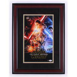 "Daisy Ridley Signed ""Star Wars: The Force Awakens"" 17x23 Custom Framed Photo Display (PSA COA  Stein"