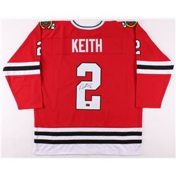 Duncan Keith Signed Jersey (Keith COA)