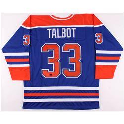 Cam Talbot Signed Jersey (Talbot COA)
