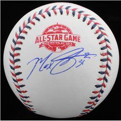 Max Scherzer Signed Official 2018 All-Star Game Baseball (Beckett COA)