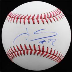 Juan Soto Signed OML Baseball (Beckett COA)