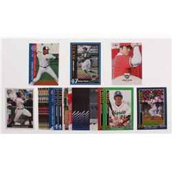Lot of (25) Baseball Rookie Cards with Mike Trout Rookies, Michael Stanton, Shohei Ohtani, Gleyber T