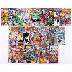 "Lot of (22) 1983-96 ""Thor"" #329-#479 Marvel Comic Books"
