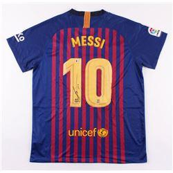 "Lionel Messi Signed Barcelona Jersey Inscribed ""Leo"" (Beckett COA)"