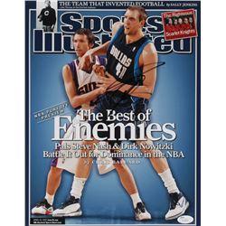 "Dirk Nowitzki Signed Dallas Mavericks ""Sports Illustrated Magazine Cover"" 11x14 Photo (JSA COA)"