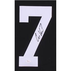 Case Keenum Signed #7 Football Jersey Number (JSA Hologram)