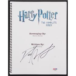 "Daniel Radcliffe Signed ""Harry Potter: The Complete Series"" Movie Script (PSA Hologram)"
