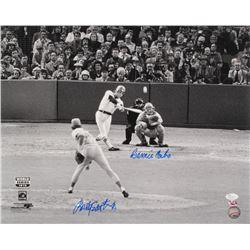 Bernie Carbo  Rollie Fingers Signed 16x20 Photo (JSA COA  Sure Shot Promotions Hologram)