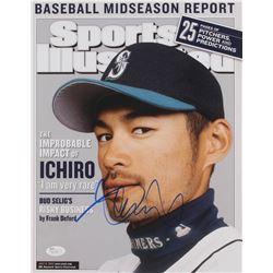 Ichiro Suzuki Signed Seattle Mariners 11x14 Photo (JSA COA)
