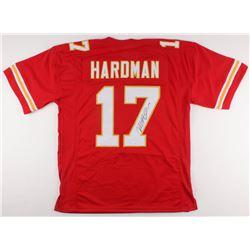Mecole Hardman Signed Jersey (JSA COA)
