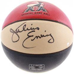 Julius Erving Signed Official ABA Game Ball (Steiner COA)
