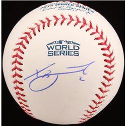 Xander Bogaerts Signed 2018 World Series Baseball (MLB Hologram)