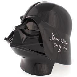 """Spencer Wilding Signed Star Wars Darth Vader Full-Size Helmet Inscribed """"Darth Vader""""  """"R1"""" (PA COA)"""