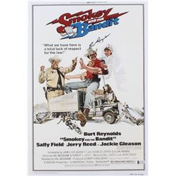 "Burt Reynolds Signed ""Smokey and the Bandit"" 12x17.5 Photo (Beckett COA)"