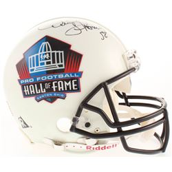 Derrick Thomas Signed Pro Football Hall of Fame Full-Size Authentic On-Field Helmet (Beckett LOA)