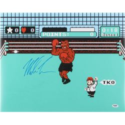 "Mike Tyson Signed ""Punch-Out!!"" 16x20 Photo (PSA COA)"