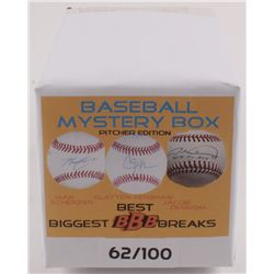 """Biggest Best Breaks"" Baseball Picther Edition Mystery Box - Autographed Baseball Series"