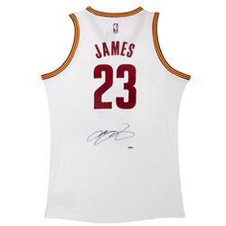 LeBron James Signed Jersey (UDA COA)