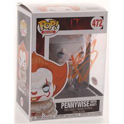 "Bill Skarsgard Signed ""IT"" #472 Pennywise Funko Pop Figure (PSA COA)"