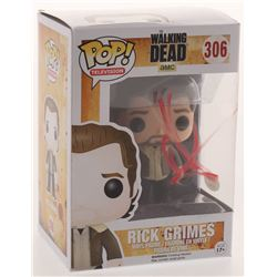 "Andrew Lincoln Signed ""The Walking Dead"" # 306 Rick Grimes Funko Pop Figure (PSA COA)"