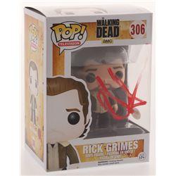 "Andrew Lincoln Signed ""The Walking Dead"" #306 Rick Grimes Funko Pop Figure (PSA COA)"