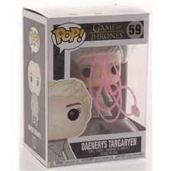 """Emilia Clarke Signed """"Game of Thrones"""" #59 Daenerys Targaryen Funko Pop Figure (PSA COA)"""