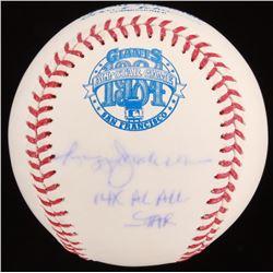 "Reggie Jackson Signed 1984 All-Star Game Baseball Inscribed ""14x AL All-Star"" (JSA COA)"