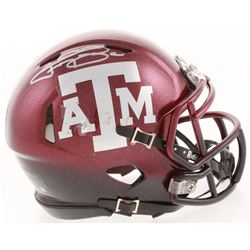 Johnny Manziel Signed Texas AM Aggies Speed Mini Helmet (JSA COA)