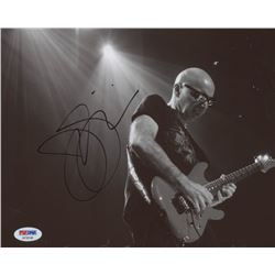 Joe Satriani Signed 8x10 Photo (PSA COA)