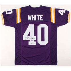 "Devin White Signed Jersey Inscribed ""18 Butkus Winner"" (Beckett Hologram)"