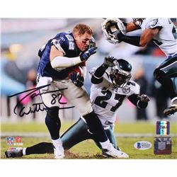 Jason Witten Signed Dallas Cowboys 8x10 Photo (Beckett COA  Witten Hologram)