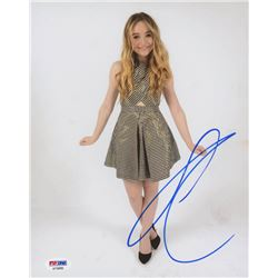 Sabrina Carpenter Signed 8x10 Photo (PSA COA)