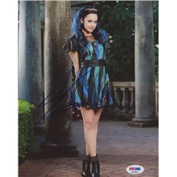 Sofia Carson Signed 8x10 Photo (PSA COA)
