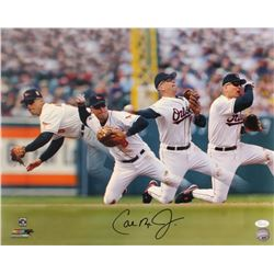 Cal Ripken Jr. Signed Baltimore Orioles 16x20 Photo (JSA COA)