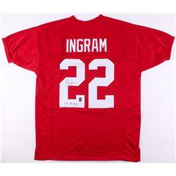 """Mark Ingram Jr. Signed Jersey Inscribed """"'09 Heisman"""" (JSA COA  Ingram Hologram)"""