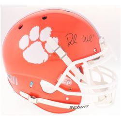 Deshaun Watson Signed Clemson Tigers Full-Size Authentic On-Field Helmet (JSA COA)