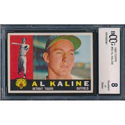 1960 Topps #50 Al Kaline (BCCG 8)