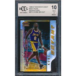 1996-97 Bowman's Best Picks Refractors #BP10 Kobe Bryant (BCCG 10)