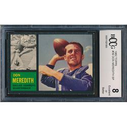 1962 Topps #29 Don Meredith (BCCG 8)