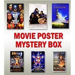 Hollywood Classic Movies Signed 11x17 Movie Posters Mystery Box - Series 6 (Limited to 100) ** Break