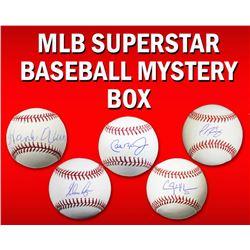 Schwartz Sports Baseball Superstar Signed MLB Baseball Mystery Box - Series 3 (Limited to 100)