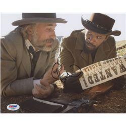 "Christoph Waltz Signed ""Django Unchained"" 8x10 Photo (PSA COA)"
