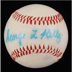 George Kelly Signed Baseball (JSA LOA)
