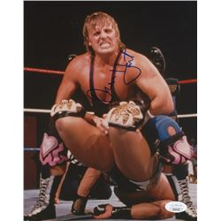 Owen Hart Signed WWE 8x10 Photo (JSA COA)