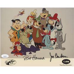 "William Hanna  Joseph Barbera Signed ""Hanna-Barbera"" 8x10 Photo (JSA COA)"