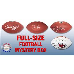 Schwartz Sports Football Superstar Signed Full Size Football - Series 10 (Limited to 100)